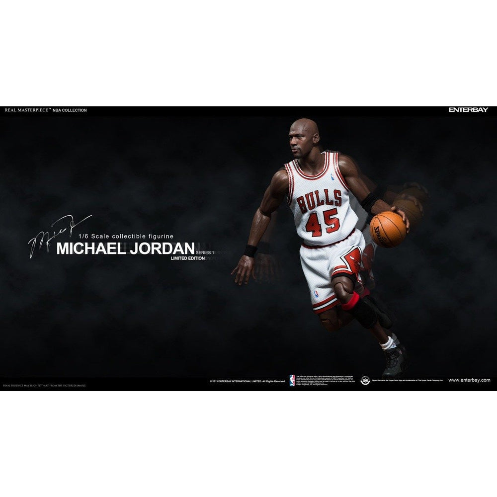 finest selection 026ea 131c0 Michael Jordan REAL MASTERPIECE 1:6 Figure I'M BACK HOME #45 Edition  ENTERBAY