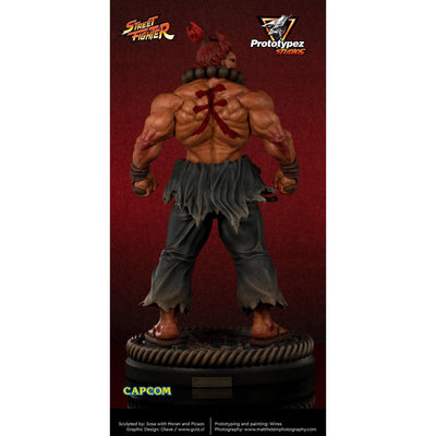 Street Fighter Classic AKUMA 1/4 Scale Statue by PrototypeZ Studios