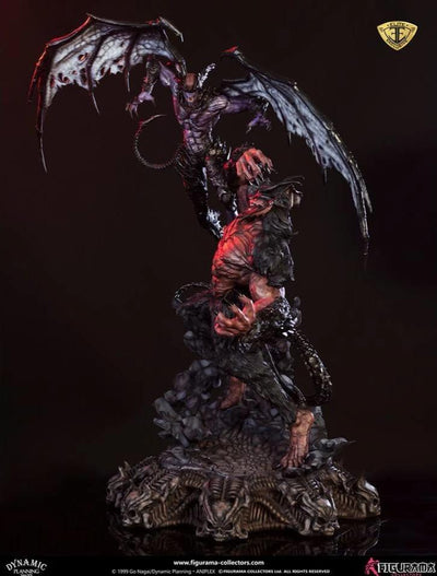 DEVILMAN Vs. AMON Elite Exclusive Statue by Figurama