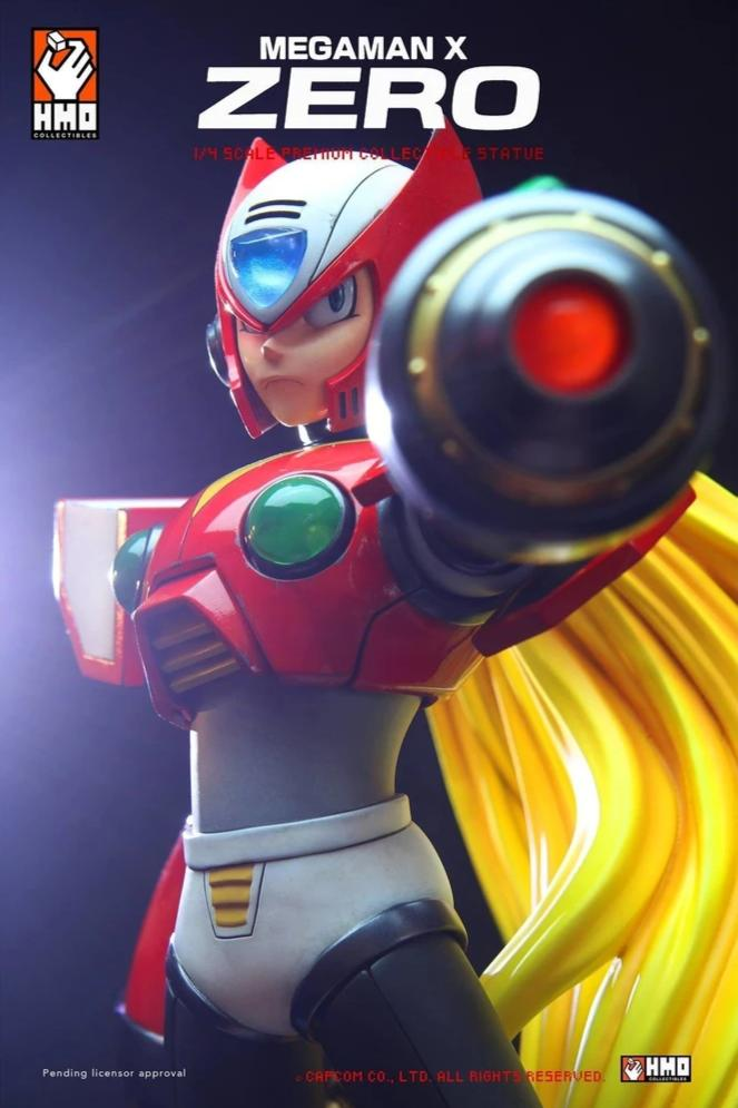 Megaman Zero (RED) 1/4 Scale Statue by Hand Made Object