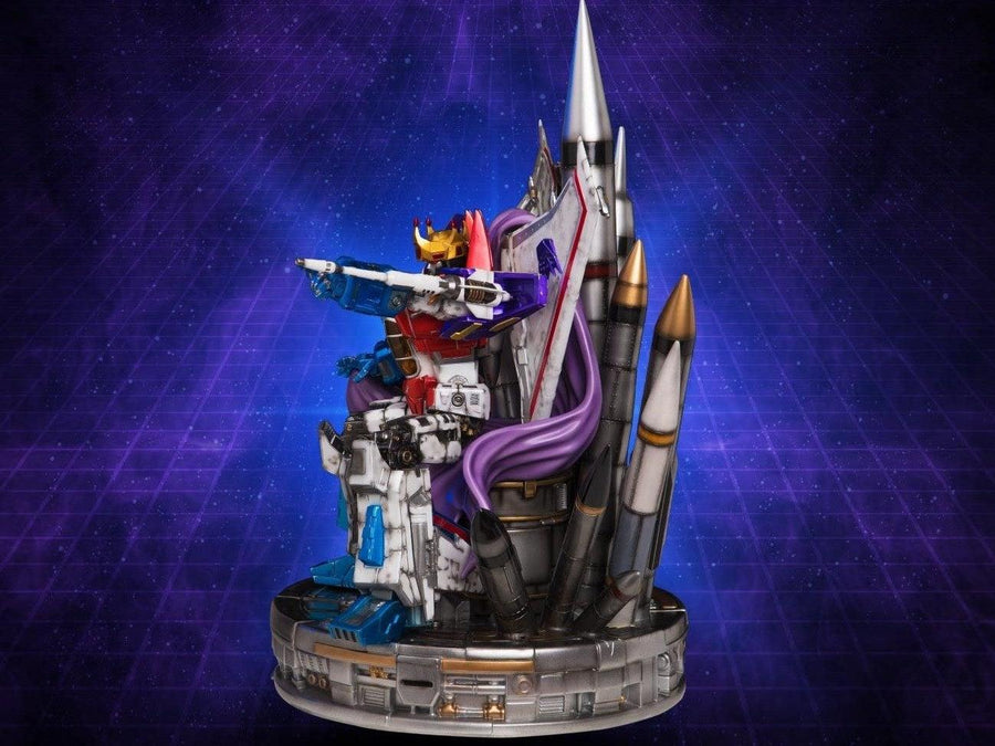 Starscream Coronation On Throne Statue by Imaginarium Art