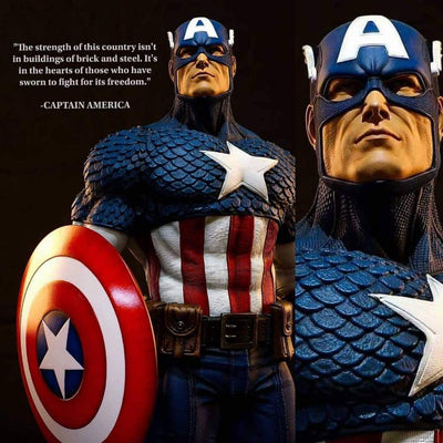 Captain America 1/3 Scale Prestige Series Statue Legendary Beast Studio