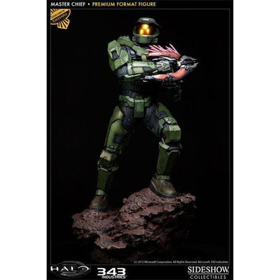 Halo: Combat Evolved - Master Chief Premium Statue Figure Sideshow EXCLUSIVE