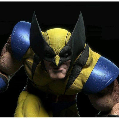 Wolverine Art Adams 1/4 Scale Statue YELLOW Costume Version by Tiger J Customs