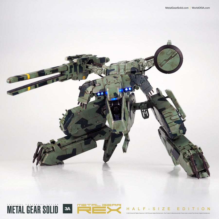 Metal Gear Solid REX HALF SIZE EDITION Figure by 3A