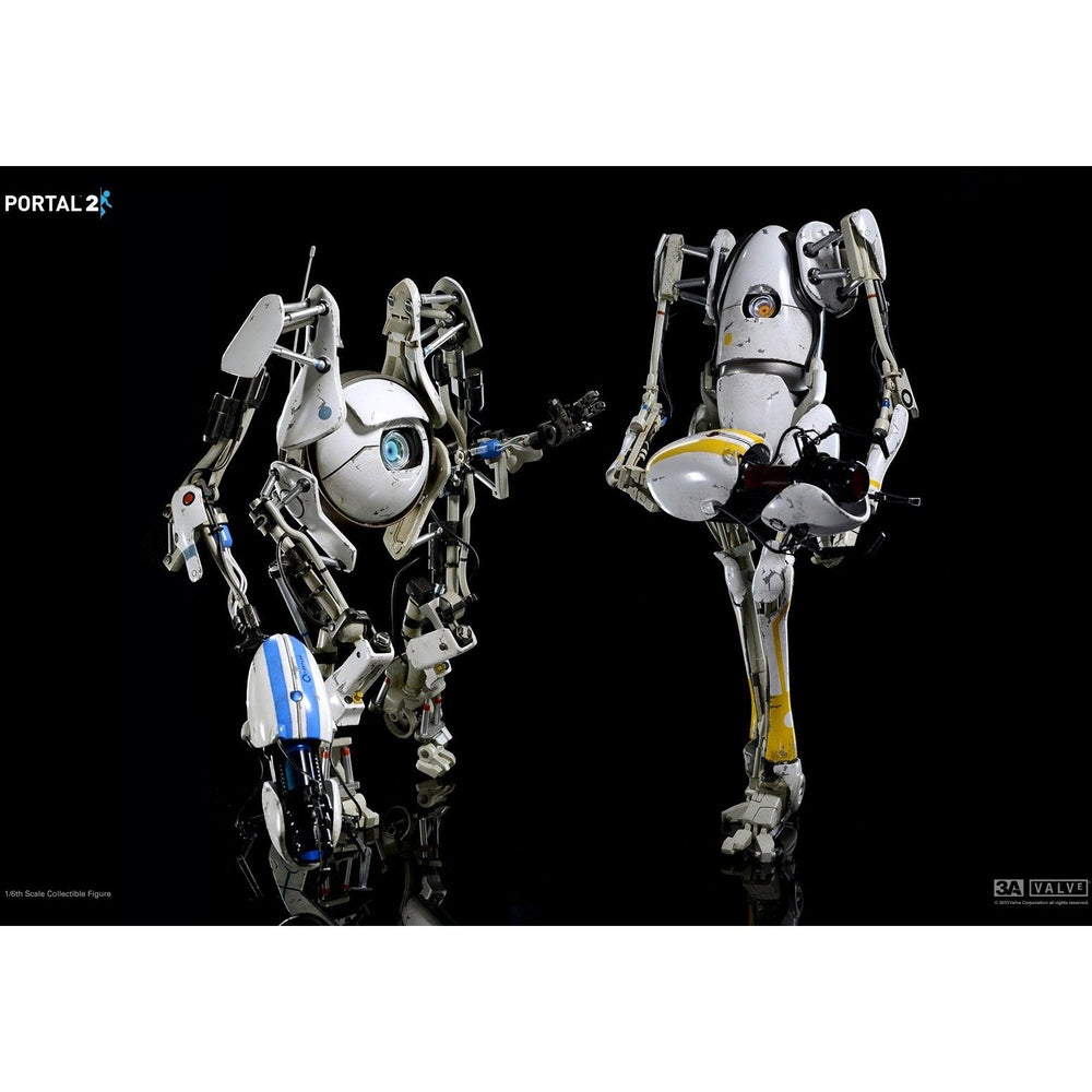 valve portal 2 p body atlas 1 6 scale figure 2 pack by 3a spec fiction shop. Black Bedroom Furniture Sets. Home Design Ideas