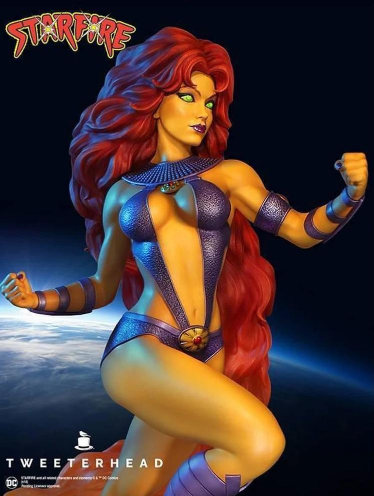 Starfire Super Powers Maquette 1/6 Scale Statue