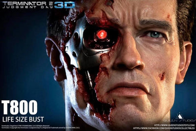 Terminator 2: Judgement Day T-800 Life Size Bust