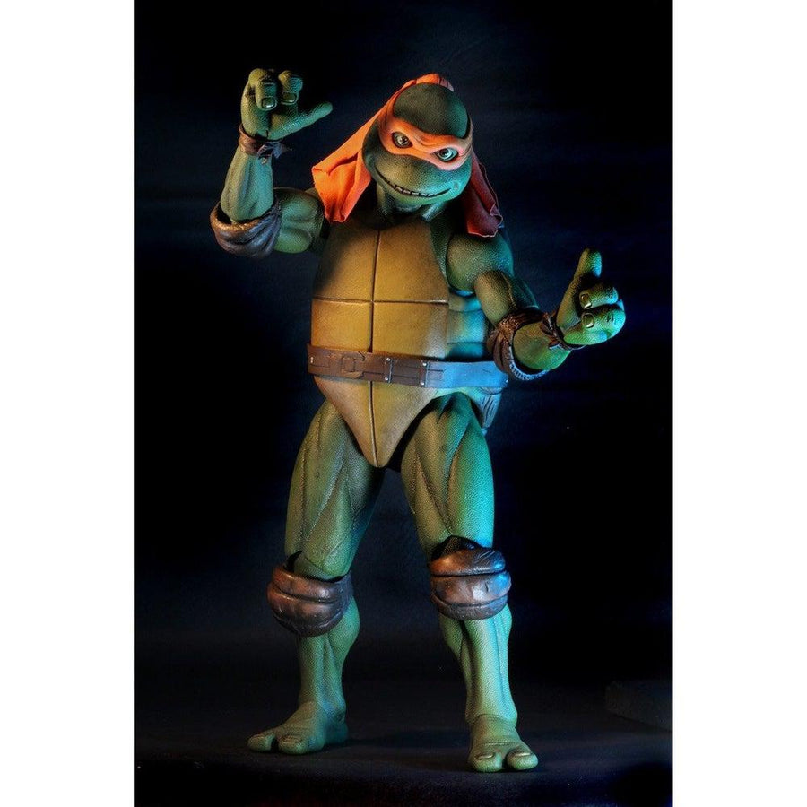 TMNT Michelangelo 1:4 Scale Figure (1990 Movie Version) by NECA