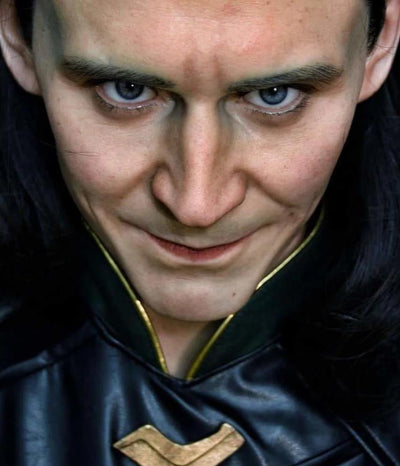 Loki 1:1 Scale Lifesize Bust WITH Helmet