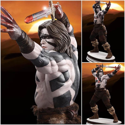 Conan The Barbarian 1/3 Scale Statue WAR PAINT CROM EXCLUSIVE by Pop Culture Shock