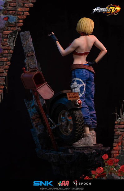 King Of Fighters Blue Mary 1/4 Scale Statue