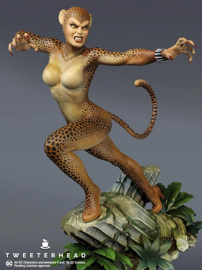 Super Powers Series: Cheetah 1/6 Scale Maquette - Exclusive