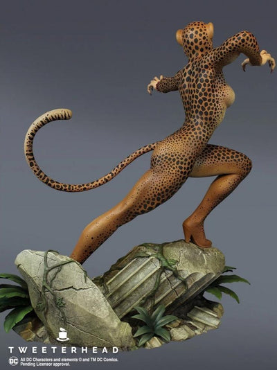 Cheetah Super Powers Maquette Exclusive