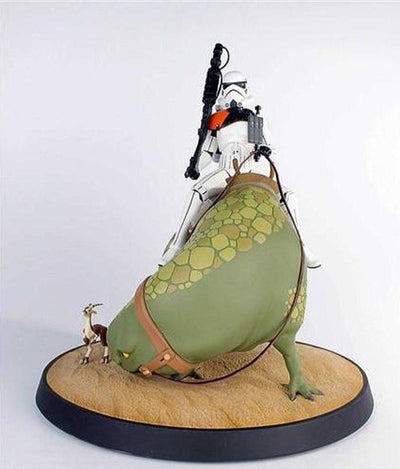 Sandtrooper On Dewback Maquette by Gentle Giant