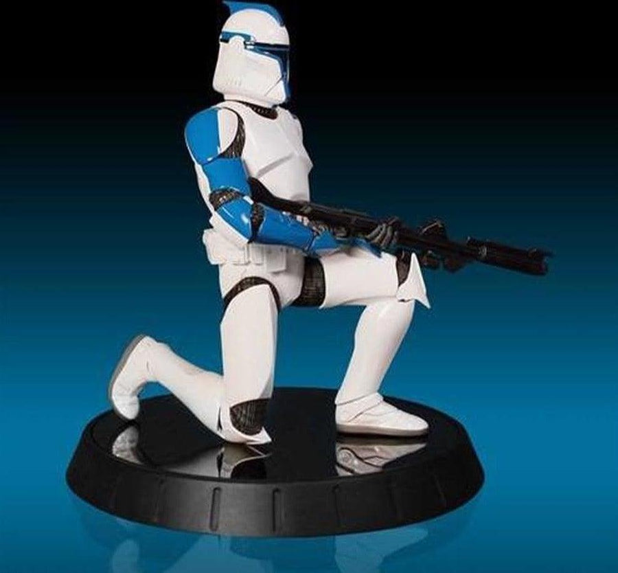 Blue Clone Trooper Lieutenant Statue - SW Celebration VI 2012 Exclusive by Gentle Giant