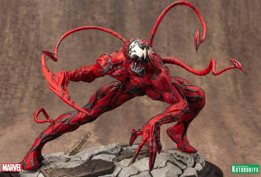 Marvel Comics Maximum Carnage Fine Art Statue by Kotobukiya