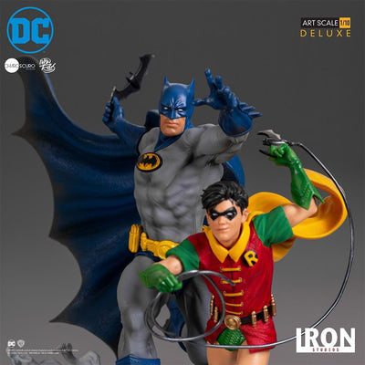 Batman & Robin Deluxe Art Scale Statue