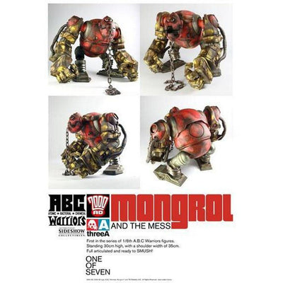 Mongrol and the Mess 1/6 Scale Figure A.B.C. Warriors by 3A