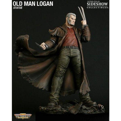 Old Man Logan Statue