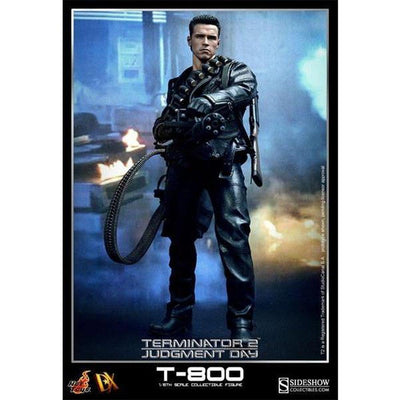 Terminator 2 T-800 1/6 Scale Figure by Hot Toys DX10 Movie Masterpiece