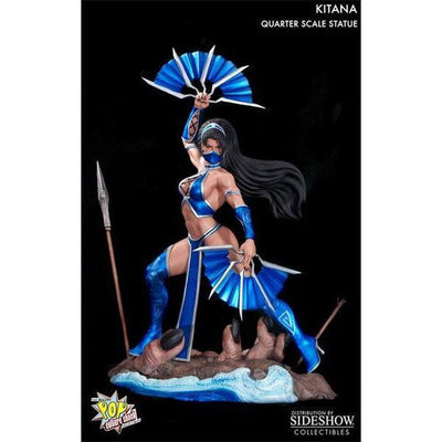 Mortal Kombat Kitana  1/4 Scale Statue by Pop Culture Shock