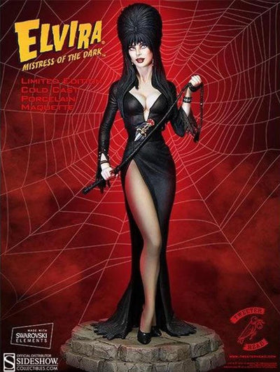 Elvira Mistress Of The Dark Maquette 1/6 Scale Statue by Tweeterhead