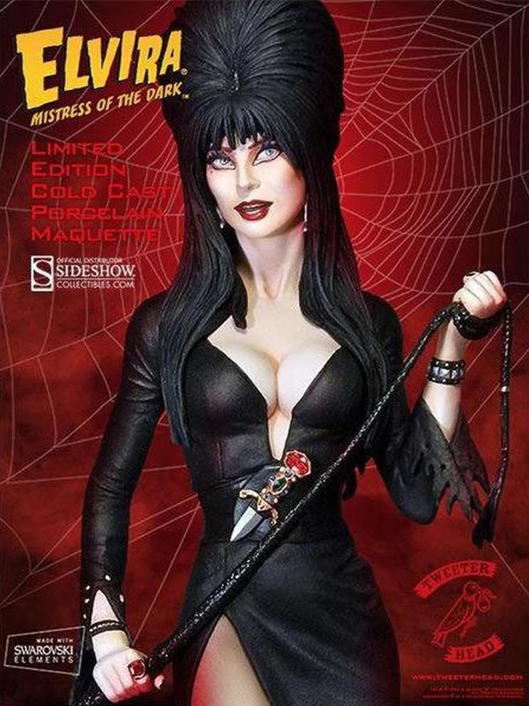 elvira mistress of the dark maquette 16 scale statue by