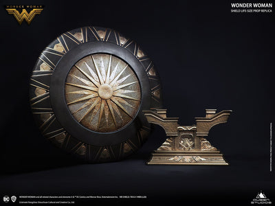 Wonder Woman Life Size Shield Metal