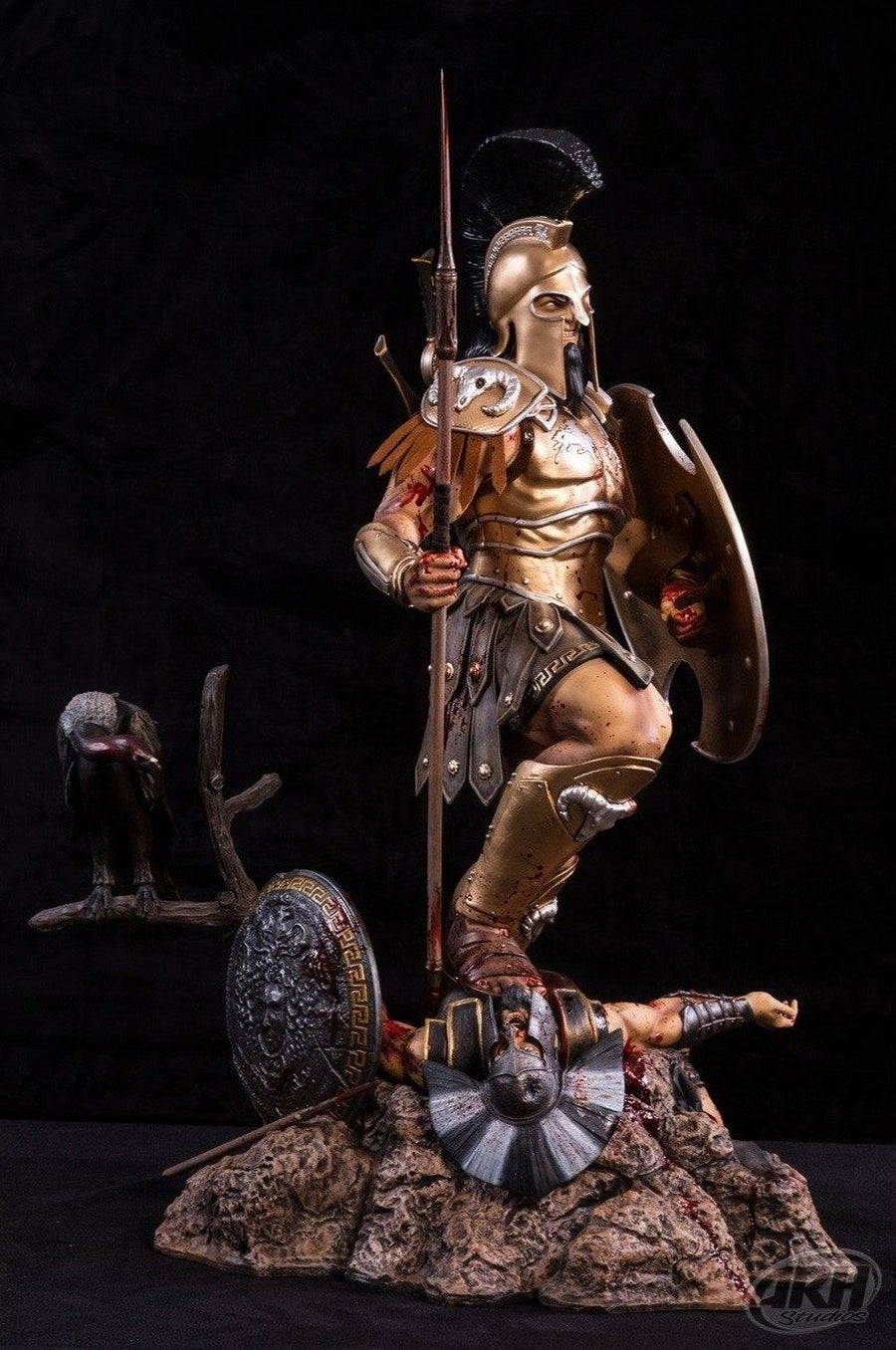 ARES: God Of War (GOLD VARIANT) 1/4 Scale Statue by ARH Studios