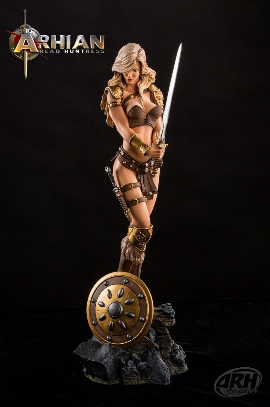 ARHIAN Head Huntress 1/4 Scale Statue by ARH Studios