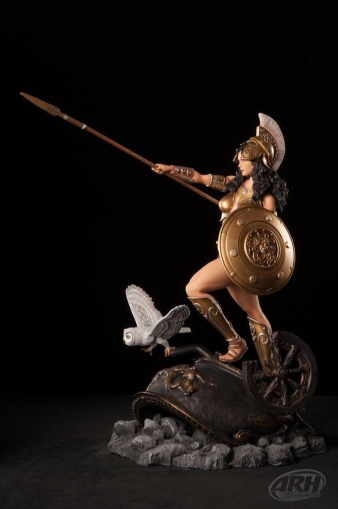 Athena Golden Armor Variant 1/4 Scale Statue by ARH Studios