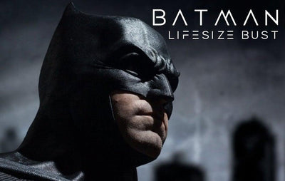 BATMAN Life-Size 1:1 Scale Bust DC Justice League