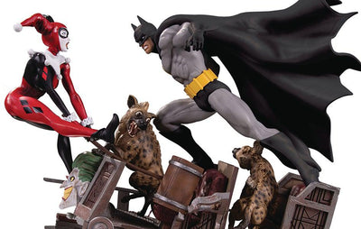 Batman vs. Harley Quinn Battle 2nd Edition Statue