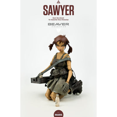 Beaver Industries Sawyer 1/6 Scale Figure by 3A