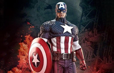 Captain America 1/3 Scale Prestige Series