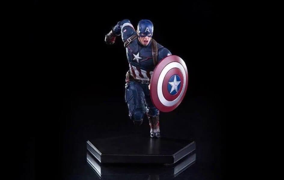 Captain America Age Of Ultron 1/10 Scale Statue by Iron Studios