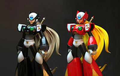 Megaman Zero ULTIMATE COLLECTOR SET 1/4 Scale Statue by Hand Made Object