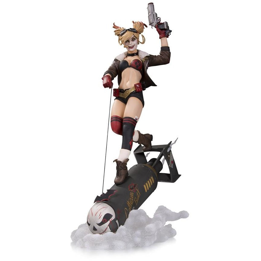 DC Bombshells Harley Quinn DELUXE Statue by DC Collectibles