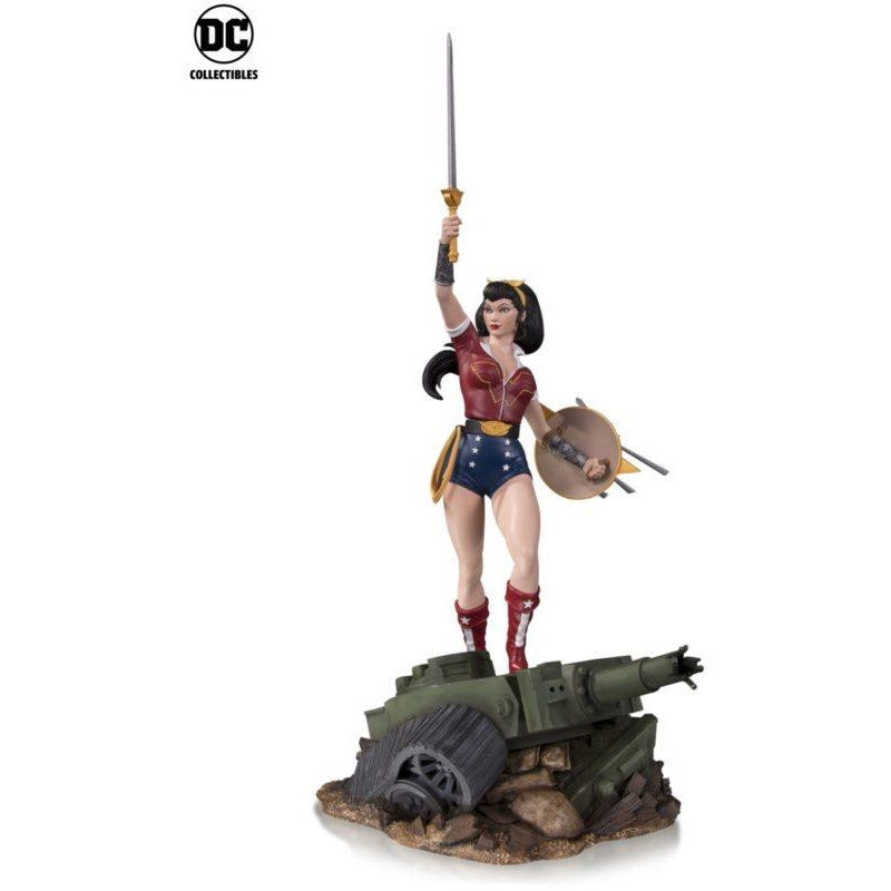 DC Bombshells Wonder Woman DELUXE Statue by DC Collectibles