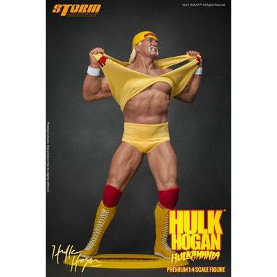 Hulk Hogan Hulkamania 1/4 Scale Statue by Storm Collectibles