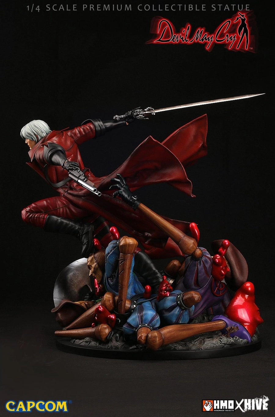 Devil May Cry DANTE 1/4 Scale Statue by HMO ( Hand Made Object )