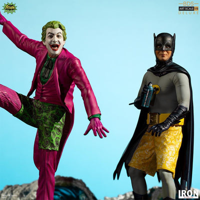 Joker & Batman 66 Deluxe BDS Art Statue