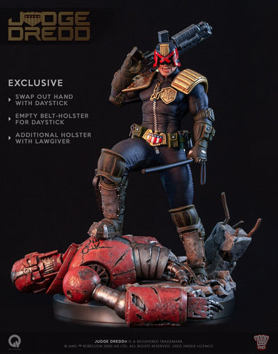 Judge Dredd EXCLUSIVE 1/4 Scale Statue