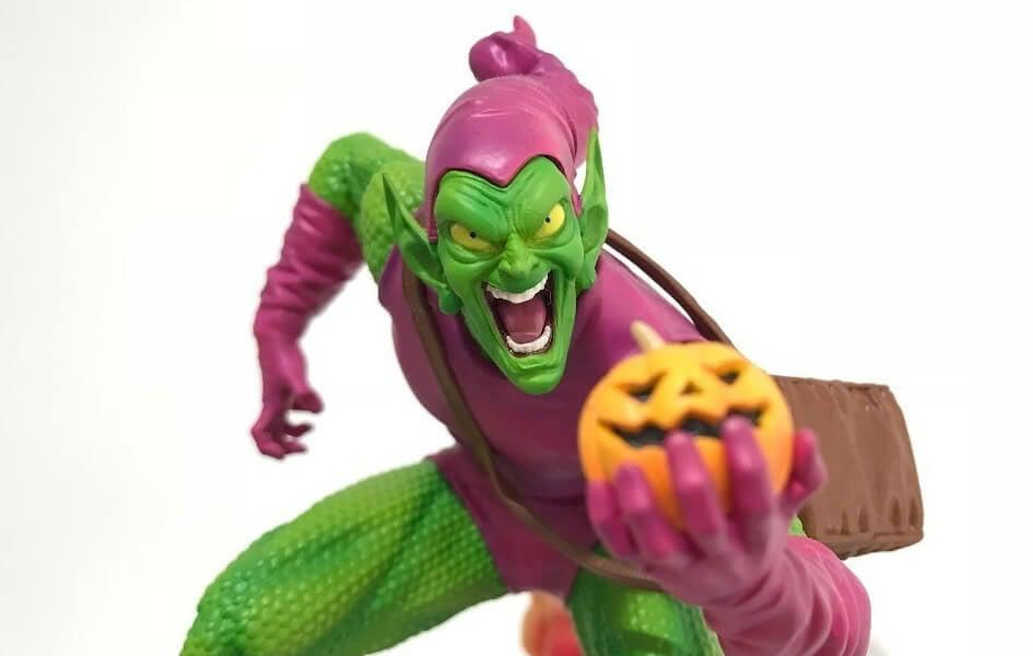 Marvel Comics Green Goblin 1/10 Scale Statue by Iron Studios