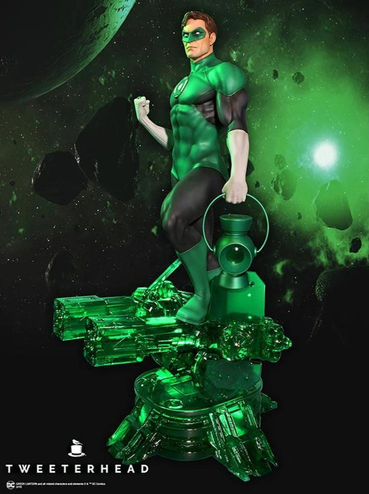 Green Lantern Super Powers Maquette 1/6 Scale Statue