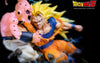 Dragonball Z Goku Vs Kid Buu Statue