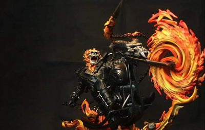 Ghost Rider 1/4 Scale Statue (DISPLAYED)