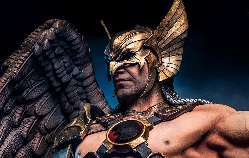 Hawkman 1/3 Prime Scale Statue DC Comics By Ivan Reis - BOTH WING OPTIONS