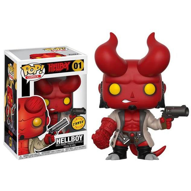 Hellboy Comic Hellboy with Jacket Funko Pop! CHASE Limited Edition